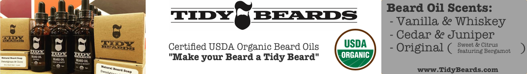 Certified USDA Organic Beard Oil